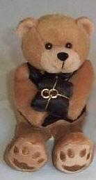 Sleek Ring Bearer Teddy