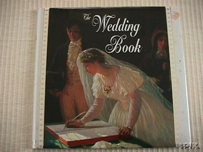 victorian style wedding guest book