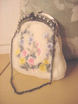Victorian Bridal Antique Purse