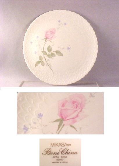 Mikasa bone china Cake plate and matching server